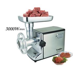 3000W acier inoxydable Accueil électrique hachoir à viande saucisse Stuffer Hachoir Heavy Duty ménages Hachoir