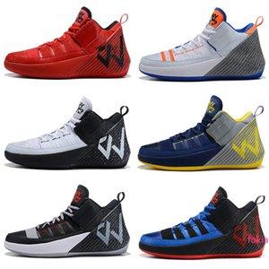 Уэстбрук Почему не Zer0 1 Обувь Chaos Mens Basketball Продажа Высокое качество Уэстбрук Sneaker магазин Размер 7.12