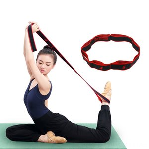 Wholesale Sport Resistance Yoga Fitness Supplies Bands Pilates Yoga Supplies Workout Elastic Band Expander Home Exercise Belt