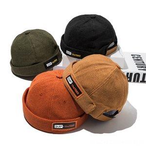 Nuevo estilo de algodón cuatro estaciones las gorras sombreros, bufandas guantes Párrafo di Zhu Calle Mao para hombre fresca de Hip Hop Hat Gorro de Escutelaria niños