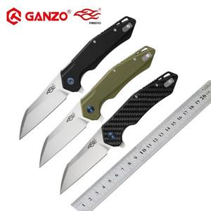 فايربيرد جانزو FH31 60hrc d2 بليد g10 أو ألياف الكربون مقبض الطي سكين بقاء التخييم سكين جيب التكتيكية edc outdoor أداة