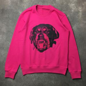Mens stilista Dog Donne Hoodies degli uomini Modello Stampato Oversize Felpe con cappuccio Moda Uomo stilista maglietta formato S-XL