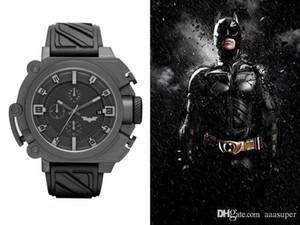 2018 Top qualité Mens DZBW Watch Factory en acier inoxydable Bracelet en caoutchouc Montre-bracelet Montre Homme