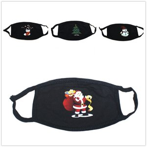 6style masque anti-poussière de Noël froide Preuve unisexe masque famille décoration cadeau de Noël Respirer Pliable Noir Ventilation DHL gratuit
