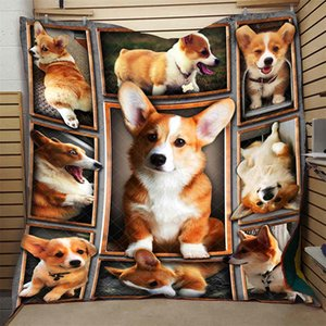 Cute Pet Quilt Fashionable High End Comfortable Kids School Adults Bed Summer Cool Quilt Creative Hot Sales Dropshipping