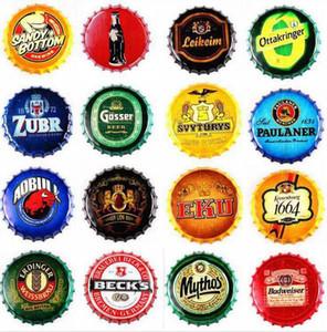 بار البيرة معدنية ملصق كورونا إضافية خمر جولة علامة القصدير غطاء زجاجة غطاء تصميم البيرة الحرف المعدنية لشريط مطعم المقهى LXL303A