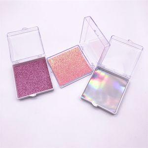 3D Mink Lashes Square Lash boxes Natural Long False Eyelashes 3-color cardboard customization Fake Lashes Makeup Extension Eyelashes