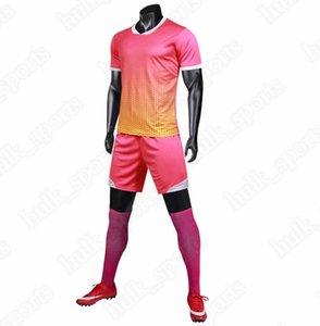 Fußballanzug Herren Team Trainingsanzug leichtes Brett Fußballtrikot Sommer atmungsaktiv schnell trocknend Feuchtigkeitsaufnahme sweat5464