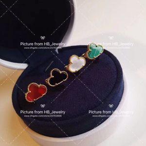 Tem selos de alta versão jóias de luxo por UCA designer de flor brincos para lady mulheres festa de casamento para a noiva com caixa