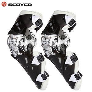 Gears دراجة نارية واقية kneepad Scoyco K12 الركبة حامية de motocross CE Approval Motocross Racing Knee 2PC / 1SET