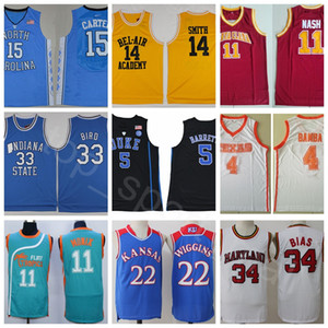 Mann Basketball Jersey College Film Vince Will Smith Steve Carter Nash Larry Barrett Vogel Bamba Wiggins Tatum Wade Jackie Moon Len Bias Link