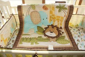 Hot Selling Baby Quilt cotton 1Pcs Boy Girl Patterns Size 84*107cm Crib bedding set for infant Baby bedding set fine Quilt