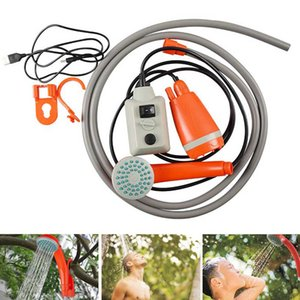 Bucket Nozzle Pumps Camping Battery Powered ABS Steady Outdoor USB Shower Set Portable Home Car Compact Handheld