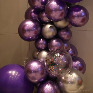 2020 New Pearl Métal brillant Latex Ballons épais Couleurs métalliques Chrome Ballons gonflables Globos anniversaire / décoration Party