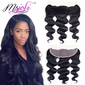 Indian Body Wave Lace Frontal Closure 13*4 Virgin Human Hair Ear to Ear Lace Frontal Peruvian lace frontal