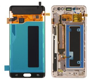 ORIGINAL Super AMOLED Note LCD For SAMSUNG GALAXY Note7 Note FE 7 N930 N930F Display Touch Screen Digitizer Assembly Replacement