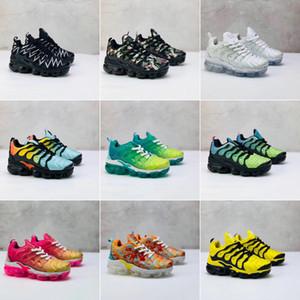 Nike Air VaporMax Plus TN 2018 TN Sıcak Satış tasarımcı ayakkabı Marka Çocuk Rahat Spor Ayakkabı Erkek Ve Kız Çocuklar Için Sneakers çocuk Koşu Ayakkabıları