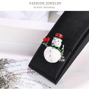 Moda Noel Serisi Emaye Broş Noel Baba Yılbaşı Takı Hediye Giyim Pin Badge Coat Elbise Jeans Aksesuarlar, 1 bilgisayar