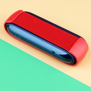 IQOS 3.0 cuarta generación de cigarrillos electrónicos portátiles cubierta protectora de cigarrillos de silicona suave ahumado hombres y mujeres venta caliente