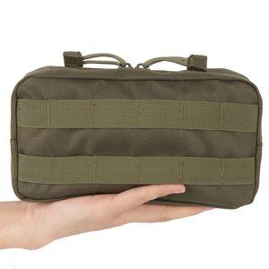 Viaggiare Outdoor Survive Gear EDC Molle Pouch Strumento Militare Bag Drop tattici softair Vest Sundries Camera Magazine Bag
