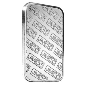 1 oz Johnson Matthey Silver Bar 999 Fine Plated Silver Coin Bars Bullion