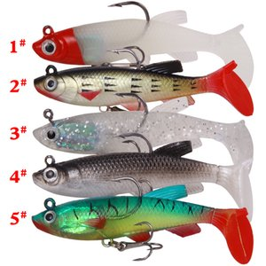 3D eyes JIGS soft lure 8.5cm 13g outdoor fhing tool sea fishing silicone bait