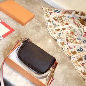 Les plus récents classiques mahjong porte-monnaie mini fermeture éclair portefeuille sacs à chaîne crossbody portable carte de crédit sacs de pièces m41706 mode de tissu d'origine