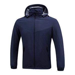 Mens Stylist Giacche a vento Nero Blu Uomini Donne Stylist Giacche invernali Uomo Abbigliamento Coat Taglia L-XXXL