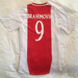 7 ROSALES 10 Van der Vaart Retro 2004 2005 AJAX Star Soccer Jerseys epoca Camiseta 04 05 magliette di calcio 49 BABEL 9 Ibrahimovic uniformi