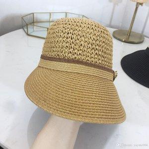 19SS cap Atacado balde chapéus Fisherman Hat Stingy Brim futebol baldes Chapéus Cotton Mulheres Homens Sun Cap barril Caps chapéu