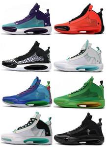 Conception 2020 hommes XXXIV PF J34 Chaussures Bleu Void Basketball Bred Formation entraîneurs des espadrilles des meilleurs sports athlétiques chaussures de course pour bottes hommes