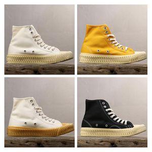 2019 Hot Sale Excelsior Bolt Luxury Designer Slide Casual shoe Restoring Ancient Ways Espadrilles High Quality Beige Yellow Men Women y4