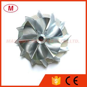 RHF5 45,00 / 64,89 мм 6 + 6 лопастей Колесо высокого качества Turbo Billet Compressor / Turbocharger Aluminium 2618 / Колесо компрессора Turbo Milling