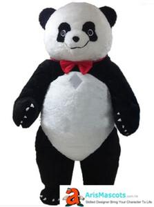 Надувной Cute Panda костюм талисмана взрослых Надувной Panda Взрослый Костюм Mascota Deguisement Mascotte Праздник Талисманы Карнавальные костюмы