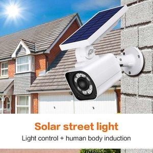 LED de pared de luz BRELONG Monitor de simulación falso sensor de la cámara Cuerpo Luz solar del jardín 1 PC
