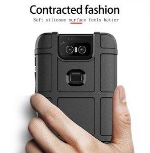 iPhone Samsung S10 için Asus Zenfone 6 ZS630KL Kılıf Silikon Kayma Önleyici Telefon Cases Kapak İçin