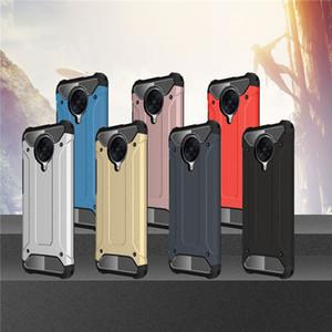 Per Xiaomi redmi K30 Pro / Poco X2 / redmi Nota 9 Pro Max Nota 9s Custodia morbida di TPU + del gel di PC della pelle Protezione Xiaomi Poco F2 Copertura Pro Armour