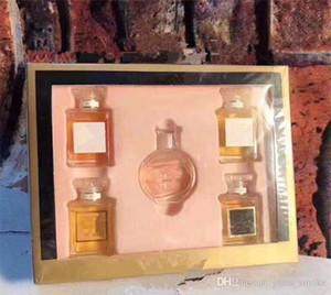 Le donne 5in1 profumo Eau de Set Profumi bellezza duratura Profumi Marchio N5 + N19 + Chance + Co ... 5 * 7.5ml Deodorante Kit