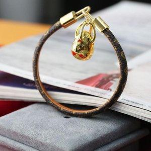 luxo designer de jóias mulheres pulseiras pulseiras de luxo designer velhas algemas de couro pele de flor de moda pulseira bolsa de jóias pulseira