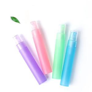 20ml spray botellas de perfume precio de fábrica colorido del tubo helado de plástico vacías botellas de perfume recargable del atomizador del aerosol LX1620