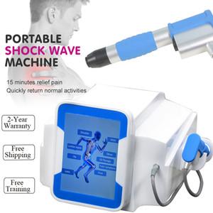 Los mejores dispositivos físicos equipos onda de choque Shockwave ED ED de Portable máquina de ondas de choque diversos dolores envío libre