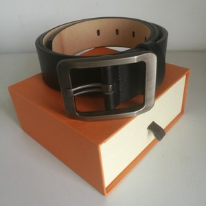 Men's and women's leather belt, France Pairs style casual male belt, female belts, smooth buckle fashionable men belt,plus size 105-125cm