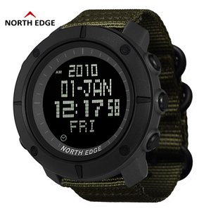 Orologi NORD BORDO World Time Army Men Sport 50m digitale impermeabile Guarda Nuoto Running Clock Diving polso Montre Homme