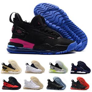 2020 nuevo Mens AJ proto max 720 zapatillas de baloncesto RETRO jumpman de Air triples negro fuera de los zapatos blancos rojos zapatillas de deporte de tamaño 7-12