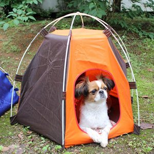dog outdoor kennel Pet Tent Cat Folding Tent Automatic dog camping fence Rainproof Sunscreen pet outdoors house travel carrier