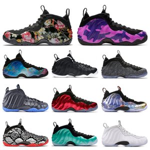 2020 Penny Hardaway Abalone Hommes Chaussures de Basketball VIOLET CAMO SNAKESKIN USA FLORAL KNICKS ROYAL BULE HABANERO ROUGE sneakers de sport taille 7-13
