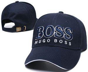 Haute qualité Hugo sport courbé pare-soleil réglable Golf baseball Casquette de femmes casquette de patron de luxe pour les hommes hip hop Snapback A01