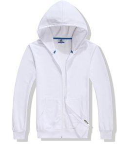 2020 hot sale Men's large size hooded sweatshirt thick zipper S -3XL winter long sleeve pocket warm black gray large size jack