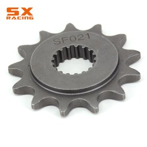 Dirt Bike 13 14T Front Chain Sprocket For TRX450 2004-2014 TRX700 2008-2009 CR250 88-08 CRF450 02-15 CRM250 1991 CR500 1988-1991
