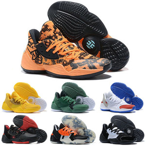 Harden Vol.4 Outdoor Basketball Shoes For Men PK Bred Black White Sneakers Sports shoes mens designer shoes